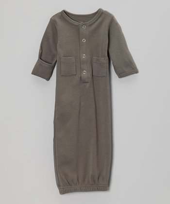 Clay Gray Gown - Infant