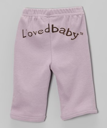It's-So-Her Lavender Signature Pants - Infant