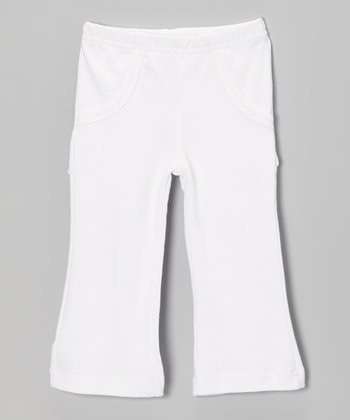 Bright White Lounge Pants - Infant
