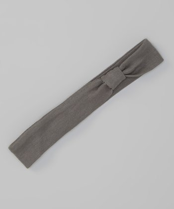 Clay Gray Stretch Headband