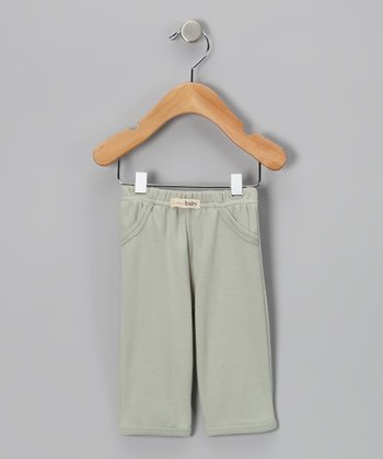 Green Lounge Pants - Infant