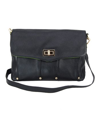 Black Marie Crossbody Bag