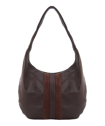 Brown Milano Hobo