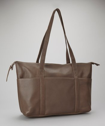 Charcoal Pocket Tote