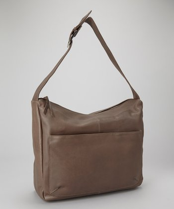 Charcoal Front-Pocket Hobo