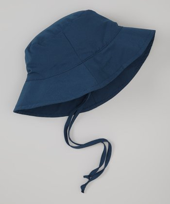 Navy Bucket Hat