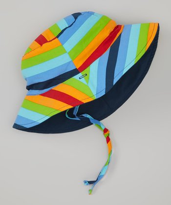 Rainbow Stripe Bucket Hat