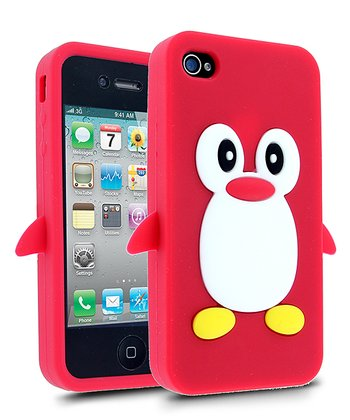 Red & White Penguin Case for iPhone 4/4S