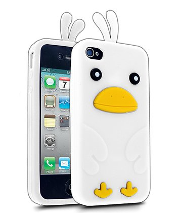 White Chicken Case for iPhone 4/4S