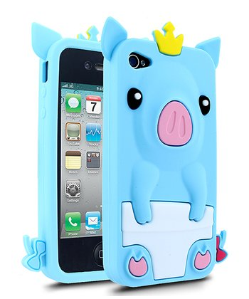 Blue Pig Case for iPhone 4/4S