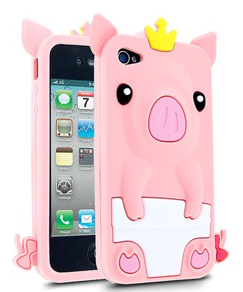 Pink Pig Case for iPhone 4/4S