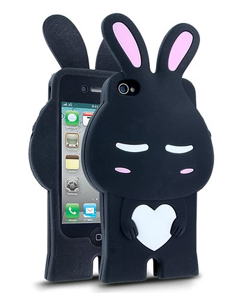 Black & White Rabbit Case for iPhone 4/4S