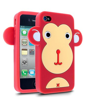 Red Monkey Face Case Case for iPhone 4/4S