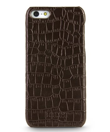 Chocolate Crocodile Case for iPhone 5
