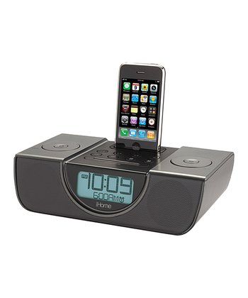 Dual Alarm FM Clock Radio for your iPhone/iPod