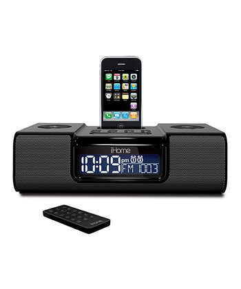 Dual Alarm Clock AM/FM Radio for iPhone, iPod & iPod Touch