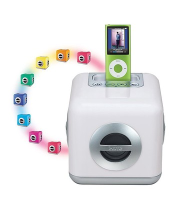Color Changing Stereo LED Dock for iPod/iTouch