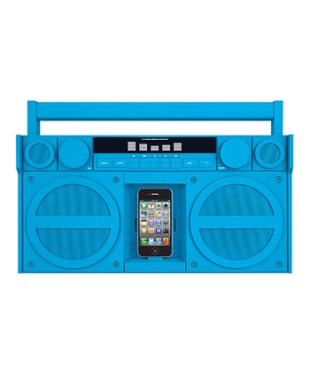 Portable Stereo Boom Box for iPhone/iPod