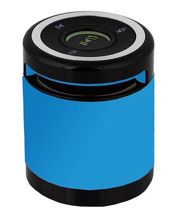 Blue Bluetooth 3W Speakerphone/Speaker