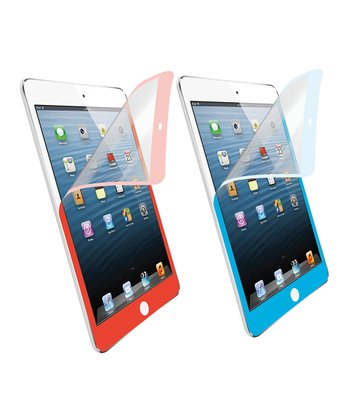 Blue & Red Screen Protector for iPad Mini