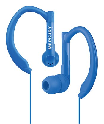 Blue Active Sport Earbuds