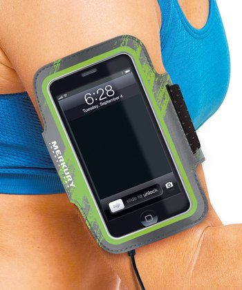 Green & Gray Armband for iPod Touch 5 & iPhone 4/4S/5