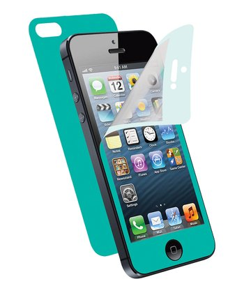 Teal Screen Protector for iPhone 5