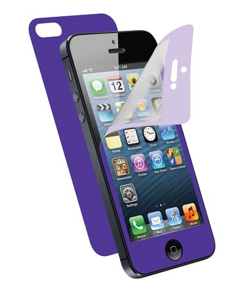 Purple Screen Protector for iPhone 5