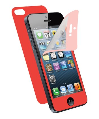 Red Screen Protector for iPhone 5