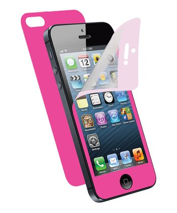 Pink Screen Protector for iPhone 5