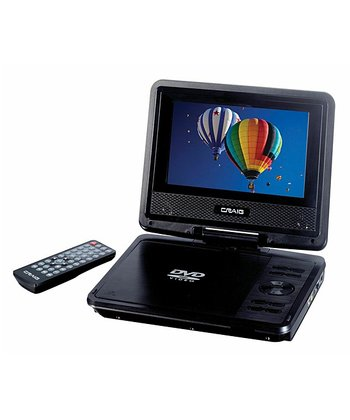 "7"" Portable DVD/CD Player"