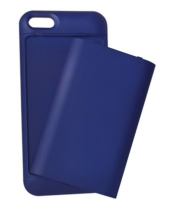 Blue Compartment Case for iPhone 5