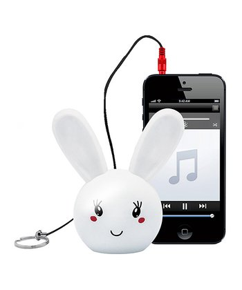 Rabbit Key Chain Critter Stereo Speaker