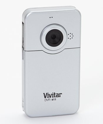 Silver 1.3 MP Flip-Screen Digital Video Recorder
