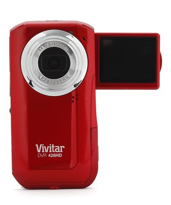 Red 5.1 MP Flip-Screen Digital Video Recorder