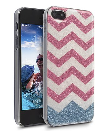Aqua Blush Zigzag Lumina Case for iPhone 5/5S