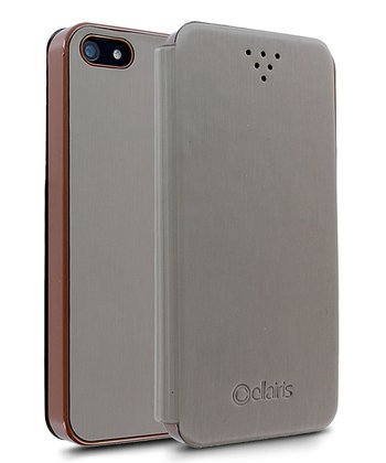 Brown Docket Case for iPhone 5/5S