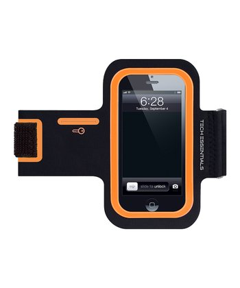 Black & Orange Armband for iPhone/iPod Touch