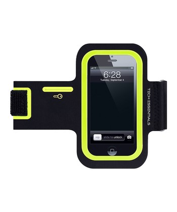 Black & Green Armband for iPhone/iPod Touch