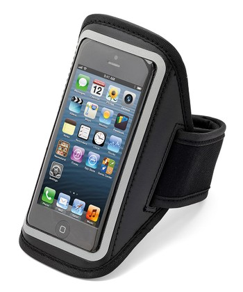 Black Reflective Sport Armband Case for iPhones 4/4s/5
