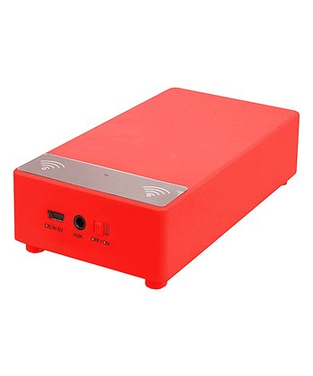 Red Induction Speaker