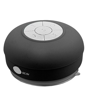 Black Bluetooth Shower Speaker