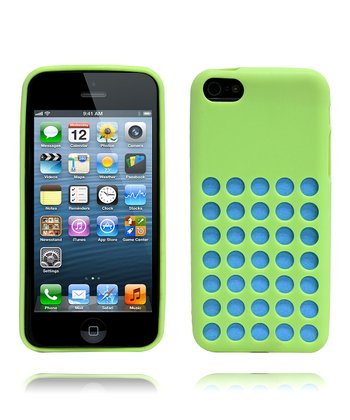 Green Peekaboo Candy Case for iPhone 5c