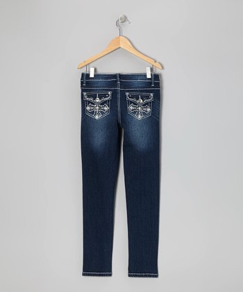 Dark Wash Cross Flap Pocket Skinny JeansThe Blower's Daughter by Damien Rice