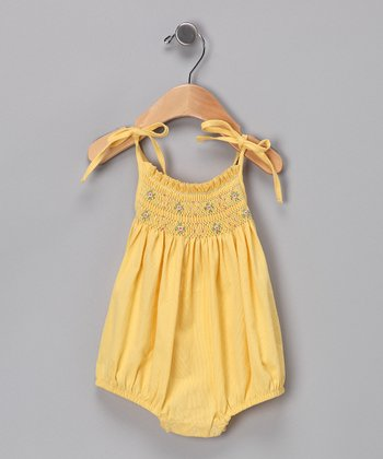 Yellow Sun Bodysuit - Infant