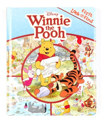 First Look and Find: Winnie The Pooh Board Book