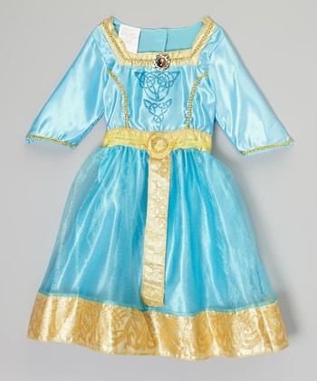 Blue & Gold Princess Merida Dress Up