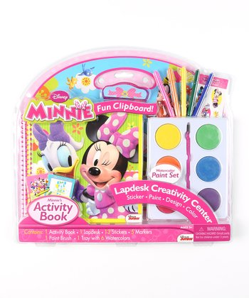 Minnie Lap Desk & Jumbo Paint Set