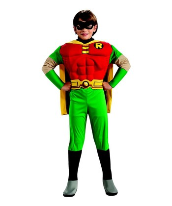 Deluxe Muscle Robin Dress-Up Set - Boys