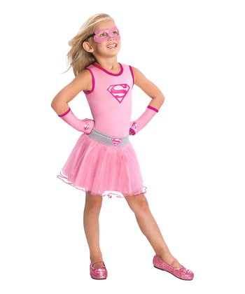 Pink Supergirl Tutu - Girls